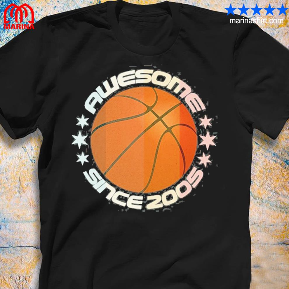 Awesome since 2005 16th birthday 16 years basketball player s unisex shirt