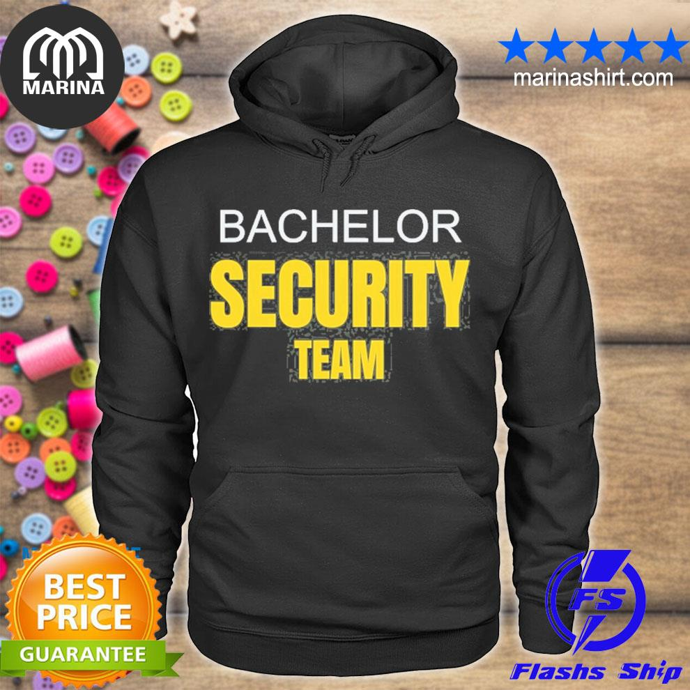 Bachelor party stag do security team funny s unisex hoodie