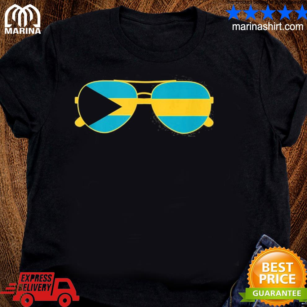 Bahamian flag Bahamas sunglasses Bahamas flag shirt