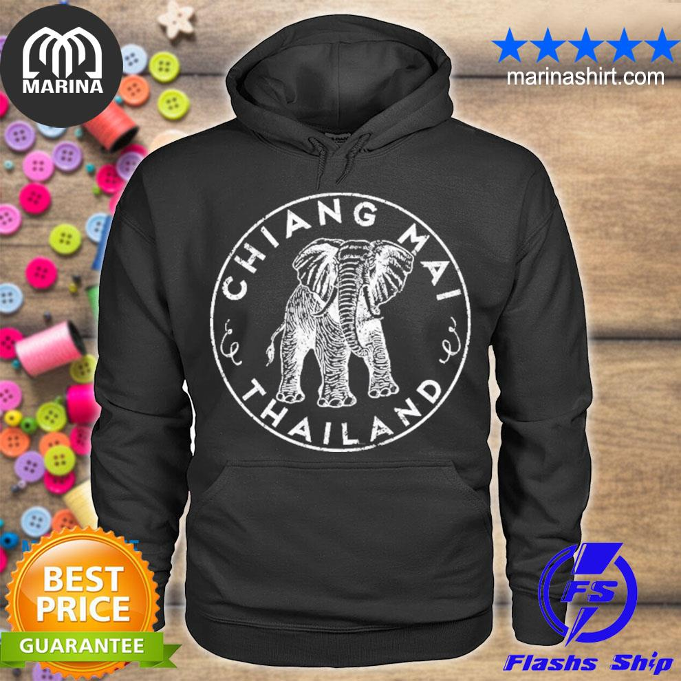 Chiang maI Thailand elephant asian travel s unisex hoodie