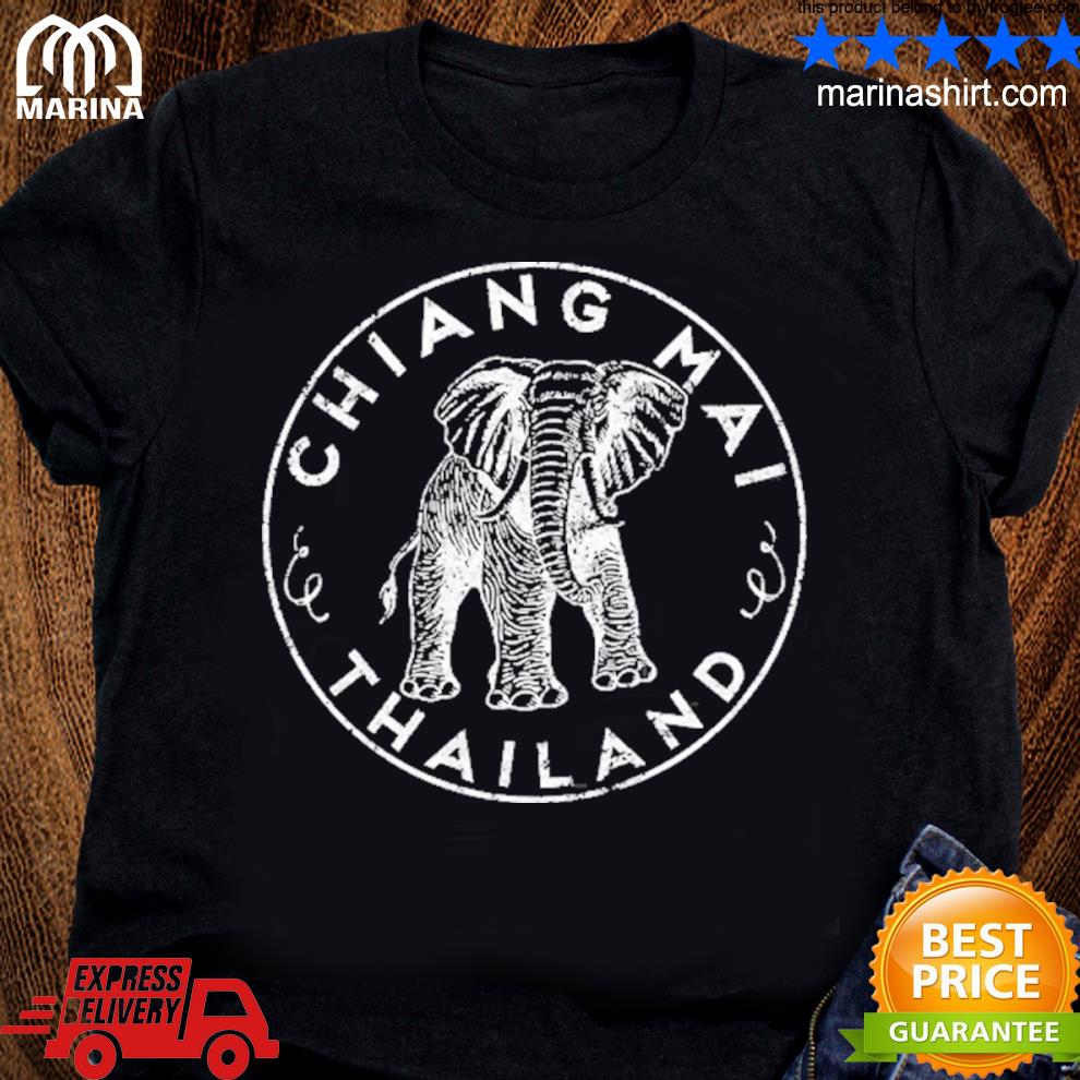 Chiang maI Thailand elephant asian travel s unisex ladies tee