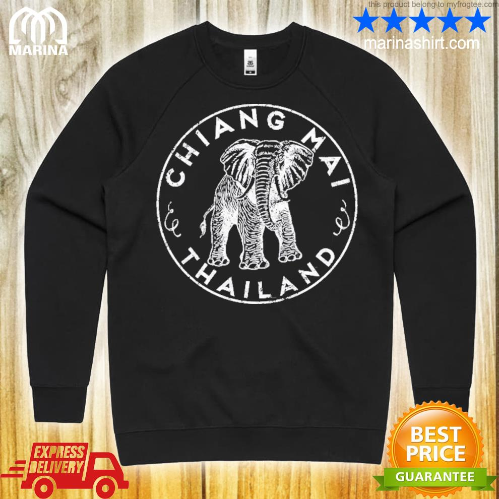 Chiang maI Thailand elephant asian travel s unisex sweatshirt