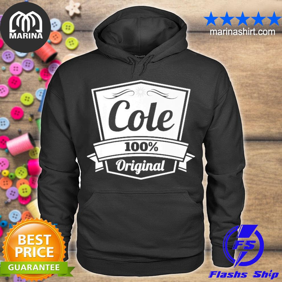 Cole gif cole personalized name birthday s unisex hoodie