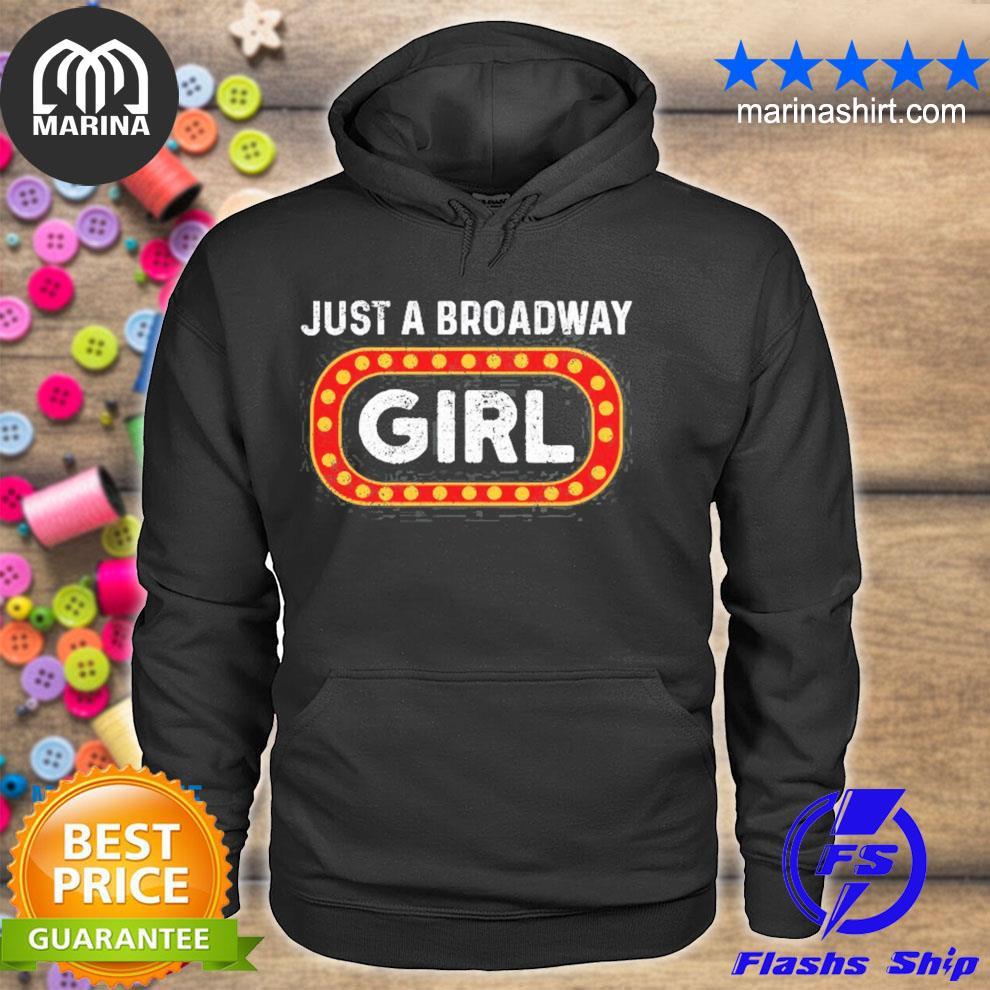 Theatre drama musical broadway girl vintage s unisex hoodie