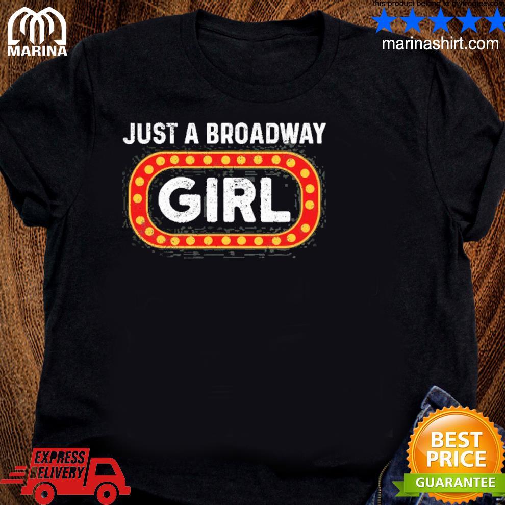Theatre drama musical broadway girl vintage shirt