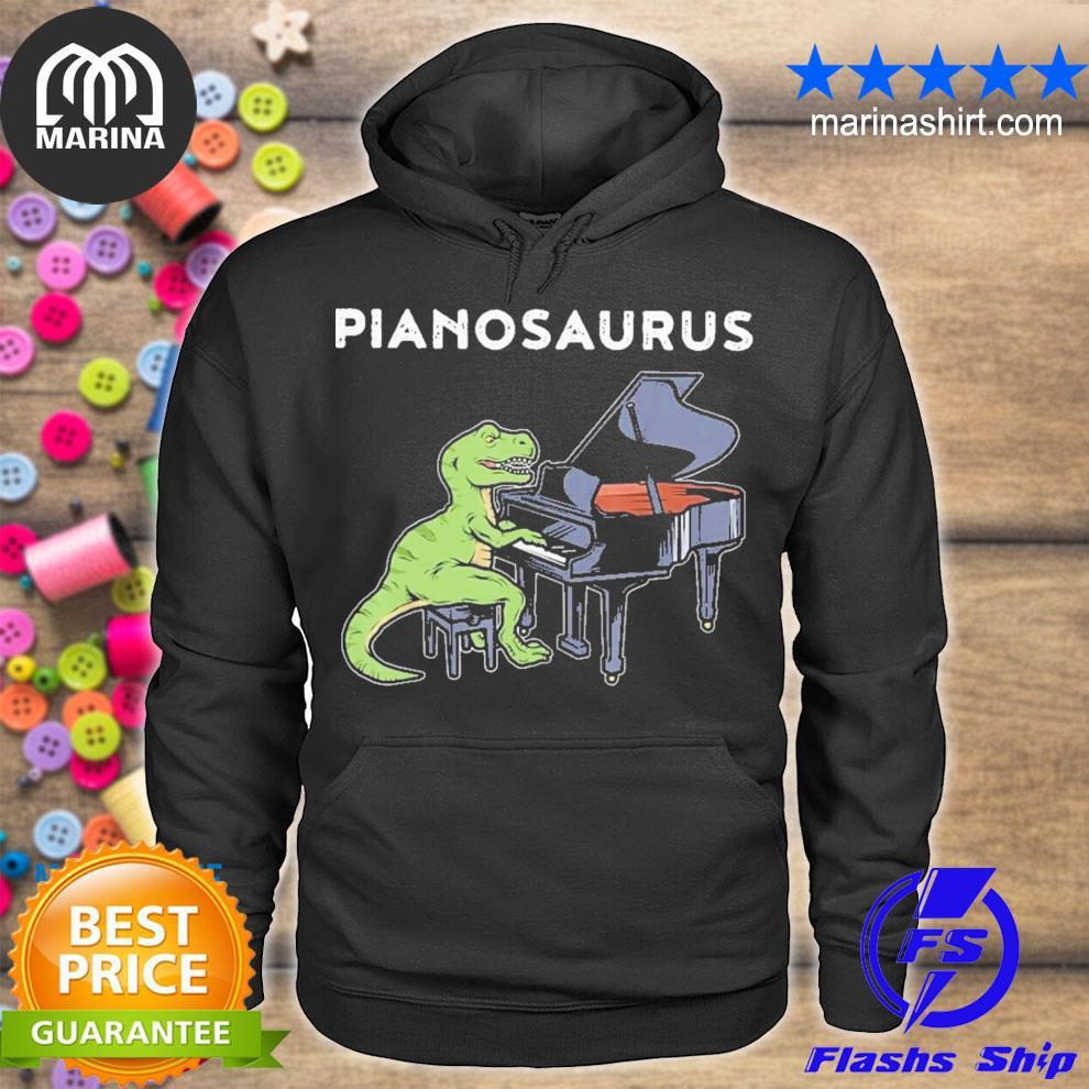 Excellent piano saurus new 2021 s unisex hoodie