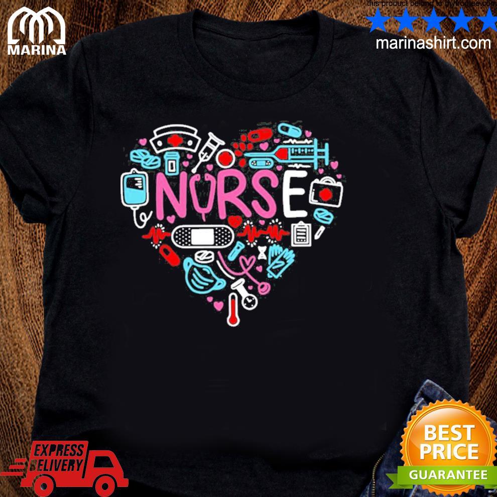 Love nurse nurse nurses new 2021 s unisex ladies tee