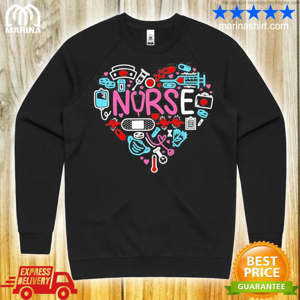 Love nurse nurse nurses new 2021 shirt