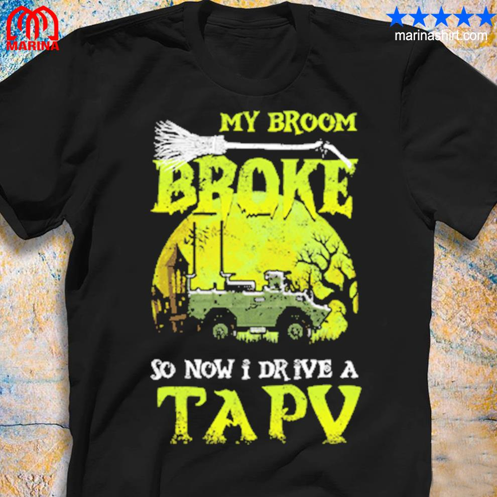 Canadian army now I drive a tapv halloween shirt