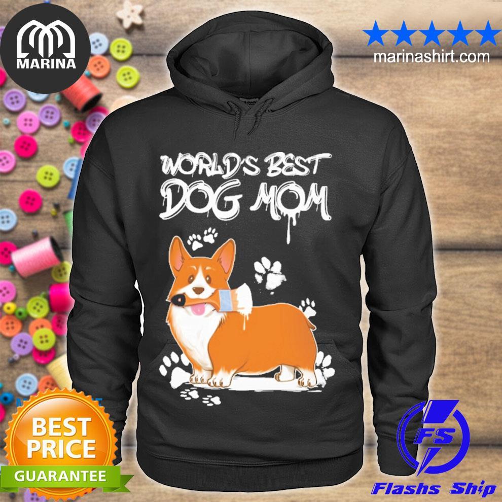 CorgI world best mom s unisex hoodie