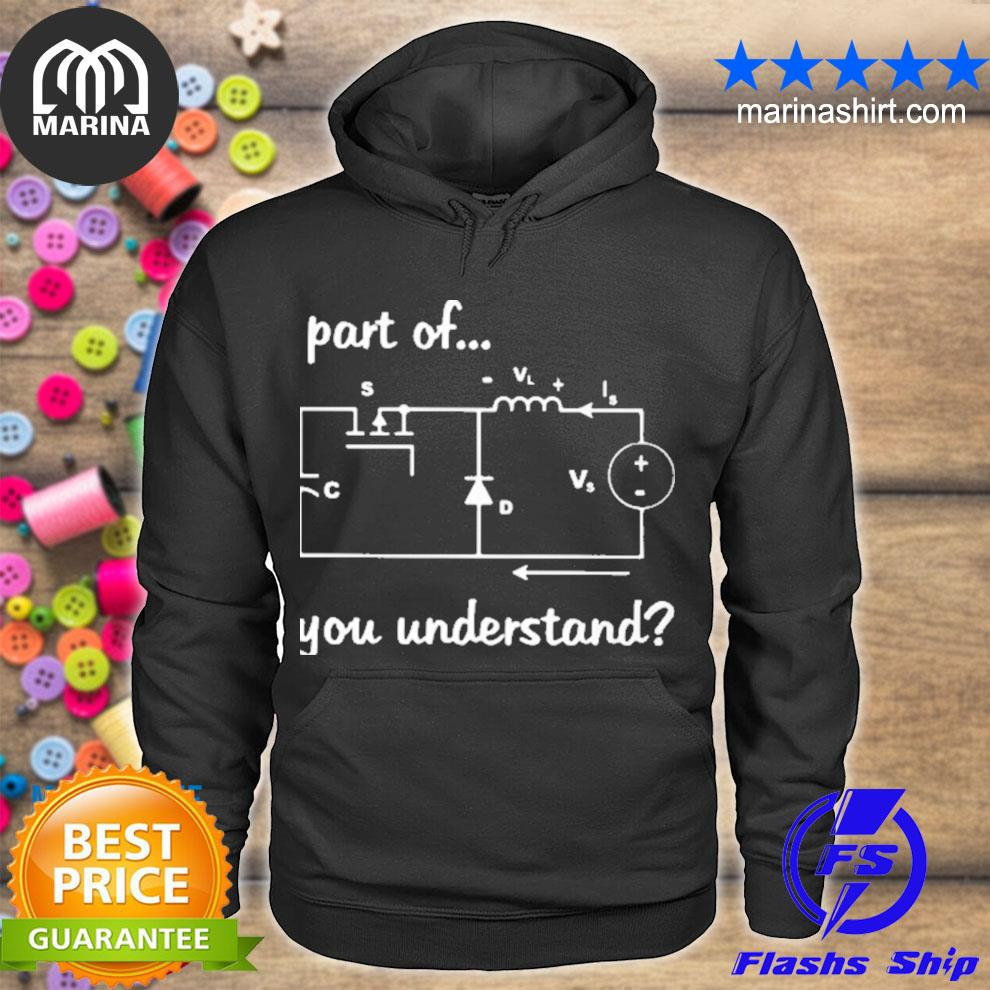 Electrician what part don't you understand s unisex hoodie