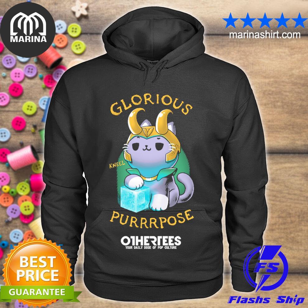 Glorious kneel purpose s unisex hoodie