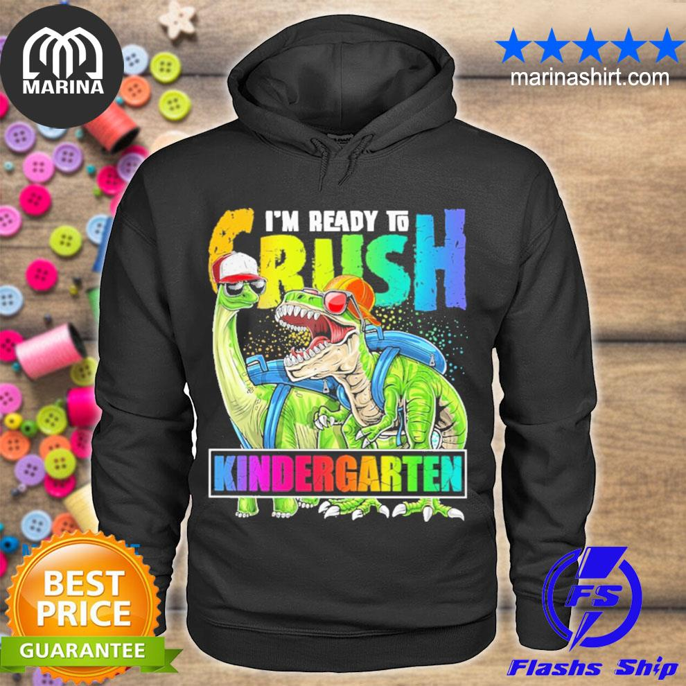 I am ready to crush kindergarten youth s unisex hoodie